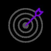 458 goal target outline 2 1