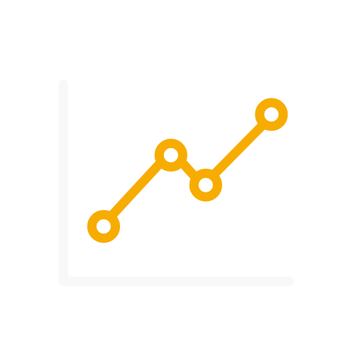 163 graph line chart outline 7